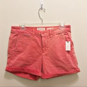 CHINO BY ANTHROPOLOGIE Relaxed Fit Pink Shorts 26